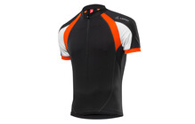 Löffler Elastic Sensor Herren Cross Bike-Trikot schwarz-orange
